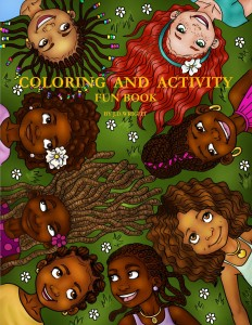 African American Children's Coloring Books