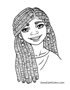 African American Children's Coloring Pages ...
