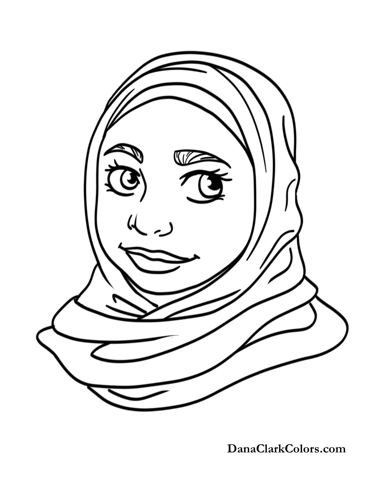 African american girls coloring pages ~ free-coloring-page-11 - DanaClarkColors.com