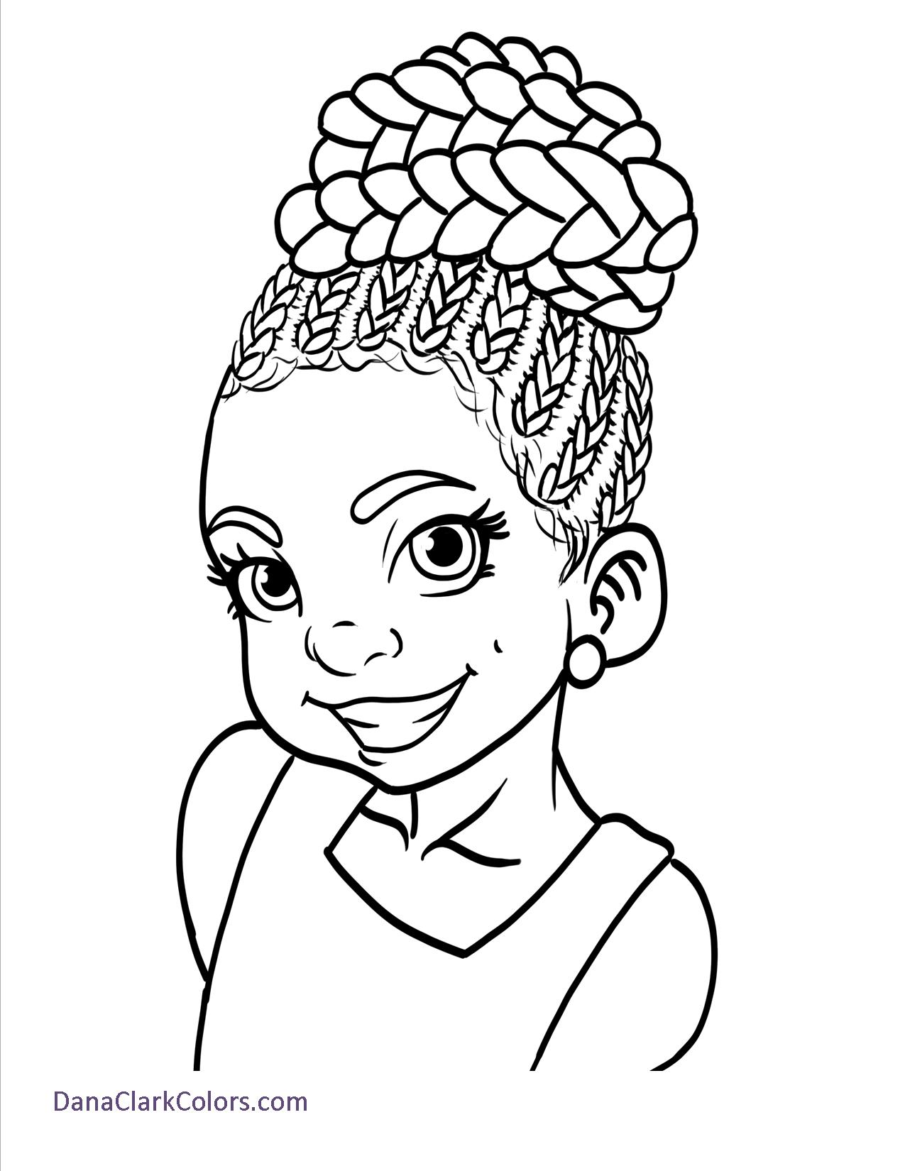Free coloring pages for Little girls coloring pages