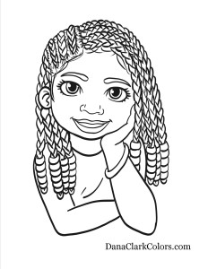 African American Coloring Pages For Kids - Coloring Home | 300x232