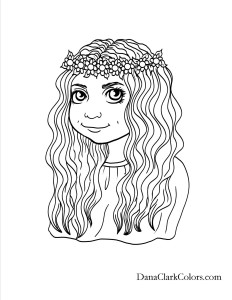 printable coloring pages haircuts - photo#34